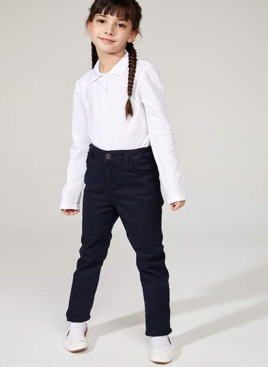 DeFacto Slim Fit Pantolon Lacivert